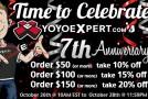 YoYoExpert Celebrates 7th Year Anniversary!