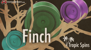 New from Tropic Spins! The FINCH!