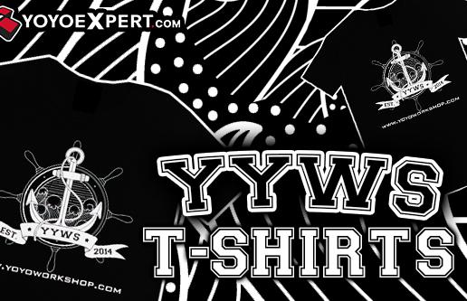 New YoYoWorkshop Logo T-Shirt!
