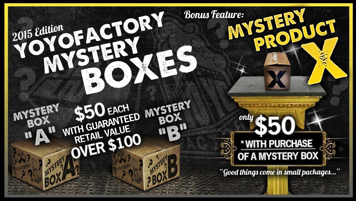 2015 YoYoExpert Mystery Boxes