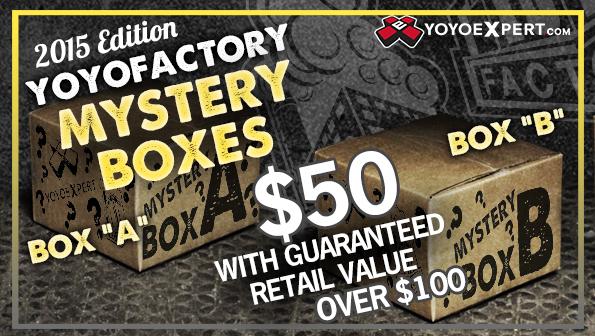 YoYoFactory Mystery Boxes