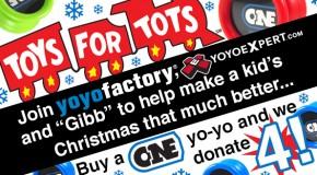 Toys For Tots Yo-Yo Drive!