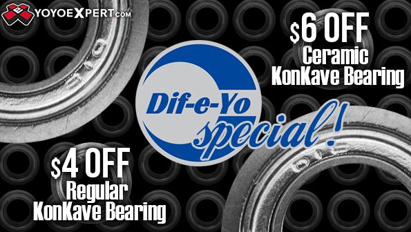 difeyo konkave bearing special