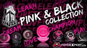 New YoYoFactory Black & Pink Collection!