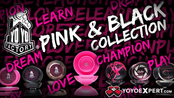 yoyofactory black and pink collection