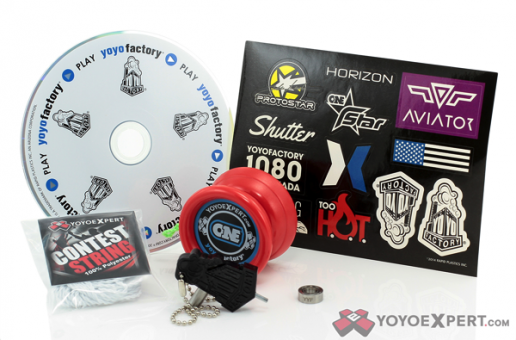 YoYoFactory Starter Set with New YoYoExpert Edition ONE!
