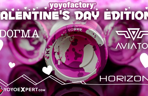 New YoYoFactory Valentine's Day Special Editions!