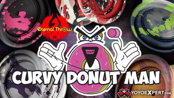 eternal throw curvy donut man