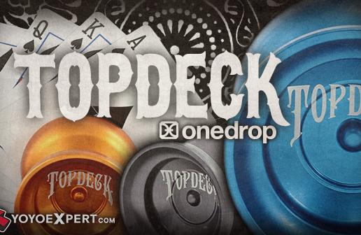 New One Drop TOP DECK – JT Nickel Signature Yo-Yo!