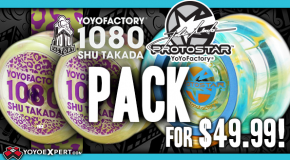 New YoYoFactory Protostar X Loop 1080 Combo for $49.99!