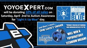 Light It Up Blue! Autism Awareness Day Giveaway!