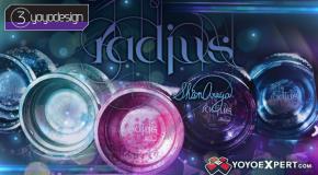 New from C3yoyodesign – The RADIUS!