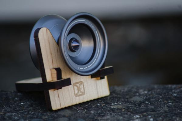 one drop wooden yoyo display