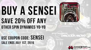 20% OFF Any Spin Dynamics Yo-Yo!
