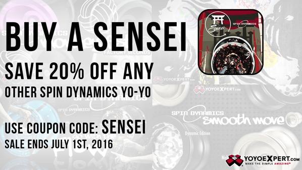 spin dynamics sensei promotion