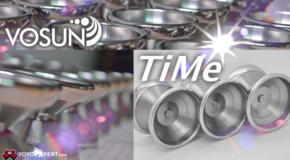 New Titanium Yo-Yo! The Vosun TiMe!