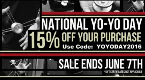 15% Off Your Order for National Yo-Yo Day!