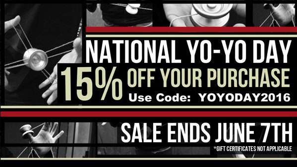yoyoexpert national yo-yo day sale