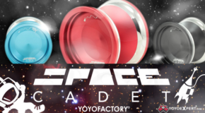 New YoYoFactory BiMetal – The Space Cadet!
