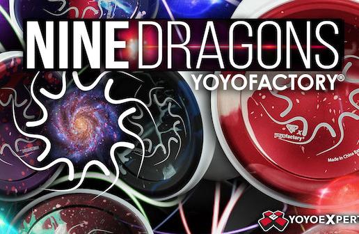 YoYoFactory Nine Dragons Restock in New Colors!