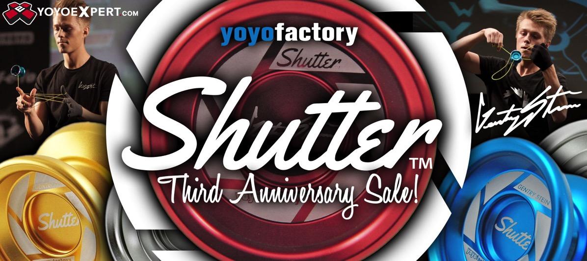 YoYoFactory Shutter Sale
