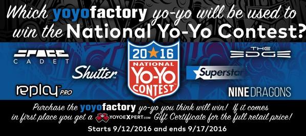 yoyofactory national yoyo contest