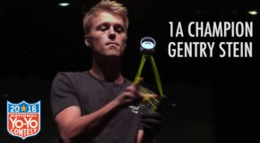 Gentry Stein – National Yo-Yo Contest 1st Place Routine!