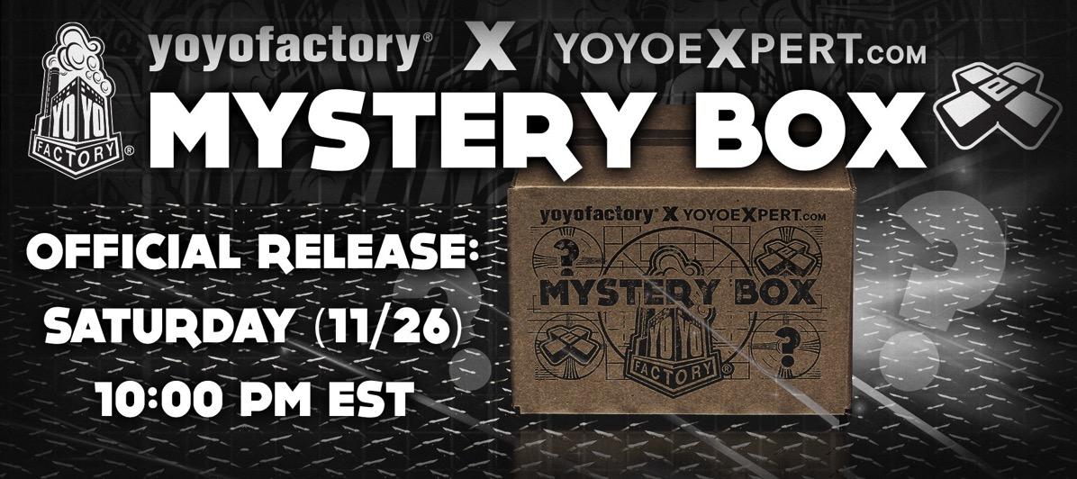 2016 YoYoFactory YoYoExpert Mystery Box