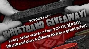 YoYoExpert Wristband Giveaway Grand Prize Winner!