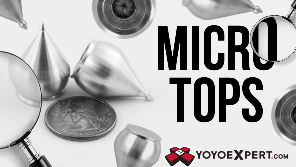 micro tops spin top