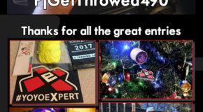 "YoYoExpert ""Stick It""   Sticker Contest Winner   December 2016"