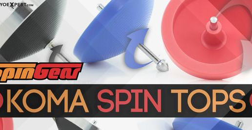 New SpinGear KOMA Spin Top!