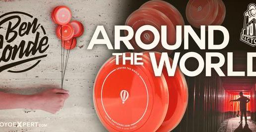 New Ben Conde Around The World Yo-Yo & T-Shirt!