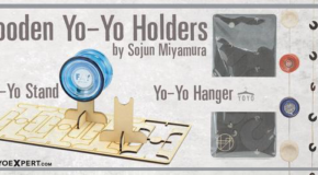 New Wooden Yo-Yo Displays by Sojun Miyamura!
