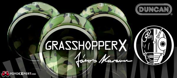 duncan grasshopper x