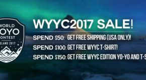 WYYC Iceland 2017 Gear! Free W/ Purchase!