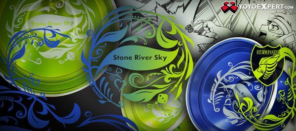 sturm panzer stone river sky