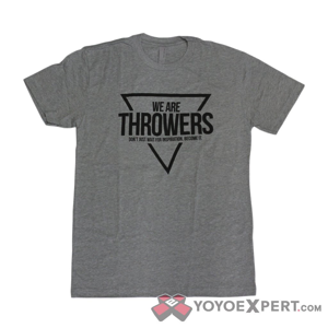 we are throwers shirt