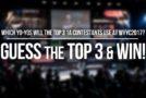 WYYC2017 Guessing Game – Pick the Top 3 yo-yos & Win!
