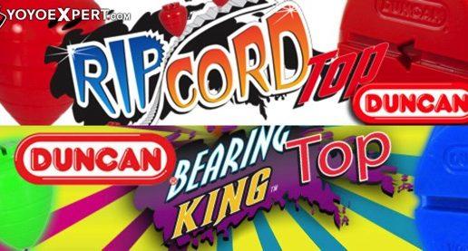 Duncan RipCord & Bearing King Spin top Restock!