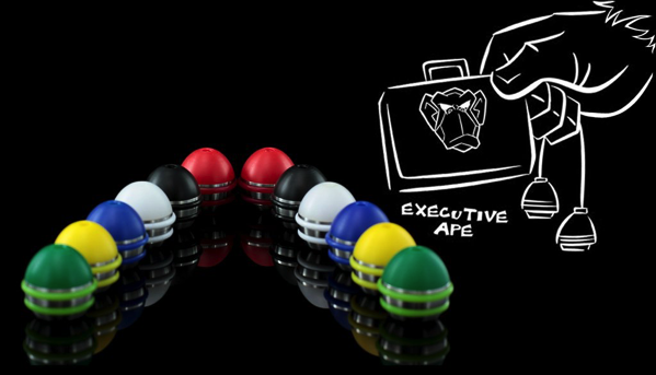 monkeyfinger executive ape begleri