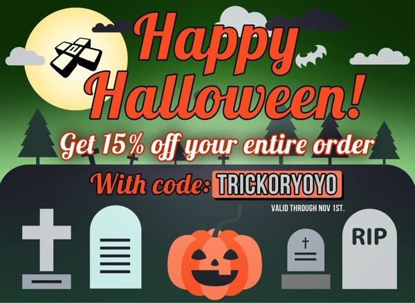 yoyoexpert halloween sale