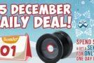 $5 December Daily Deals!