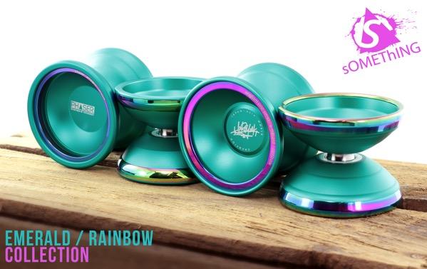 something by yoyoaddict emerald rainbow