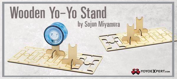 wooden yoyo stands