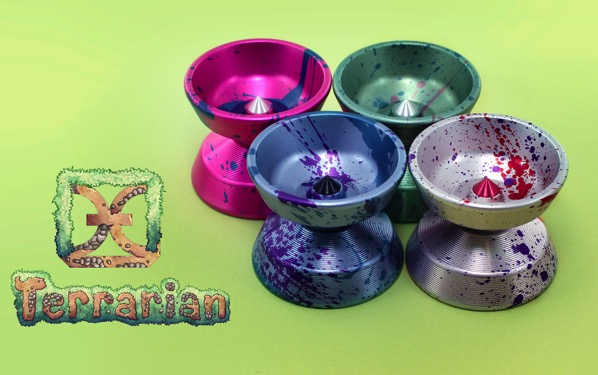 New @onedropyoyos Terrarian Restock in 4 amazing new colors! @terraria_logic #todaysthrow one dorp terrarian