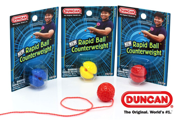 duncan rapid ball counterweight