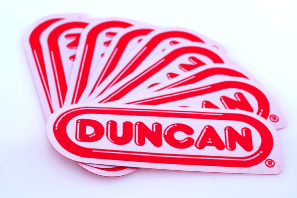 duncan iron on logo patch