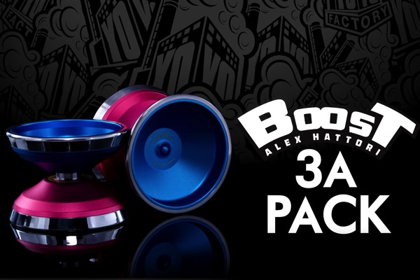 yoyofactory boost 3a pack