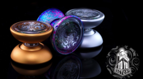 New lightup aluminum yo-yo! The YoYoFactory KUI!